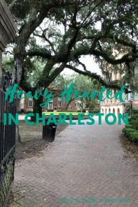 Heavy Hearted in Charleston